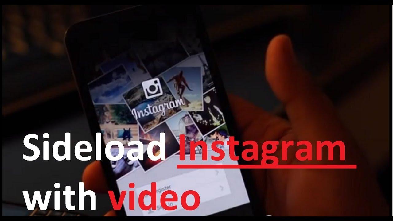Instagram with video for Blackberry Z30 Q10 Z10 Q5 (Tutorial Sideload)