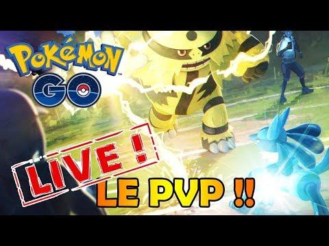 LE PVP DANS POKEMON GO !! PREMIERS COMBATS ET TESTS EN LIVE !! thumbnail