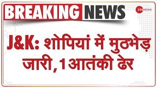 Jammu-Kashmir: Shopian में Security Forces और Terrorists के बीच Encounter, 1 आतंकी मारा गया | News