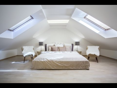 Loft Room Decorating Ideas for Unused Ceiling Attic Space YouTube