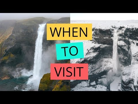 Best Time to Visit Iceland - Pros + Cons of each season