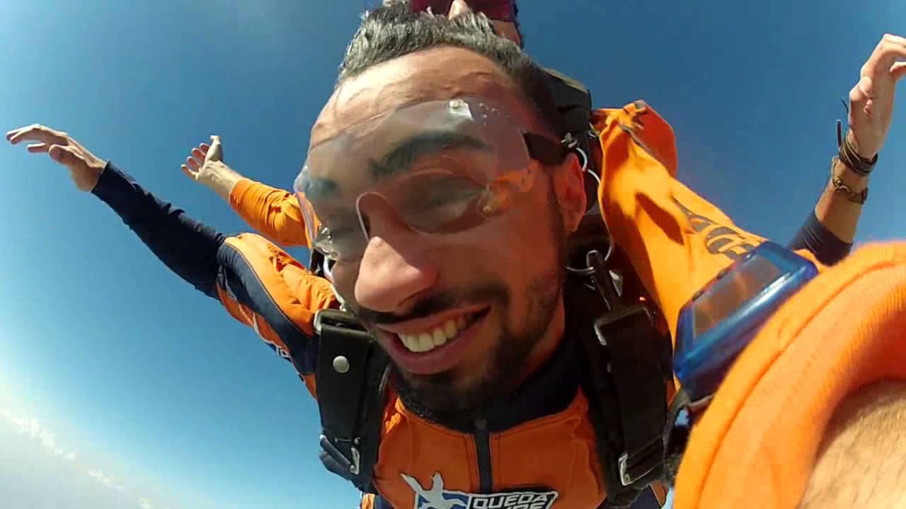 Salto de Paraquedas do Danilo R na Queda Livre Paraquedismo 30 07 2016