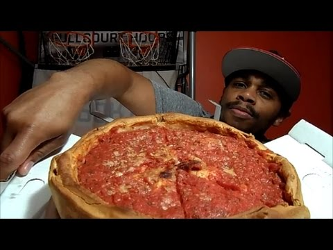 Chicago Stuffed Deep Dish Pizza Review