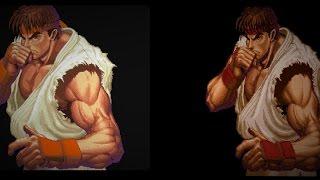 Super Street Fighter II - Arcade vs SNES