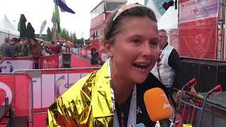 Els Visser na Challenge Almere-Amsterdam
