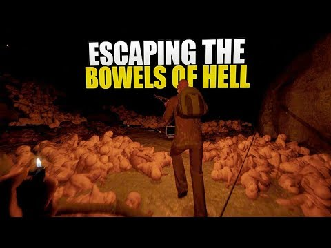 ESCAPING The BOWELS Of HELL (The Forest: Tribal Survival) #8