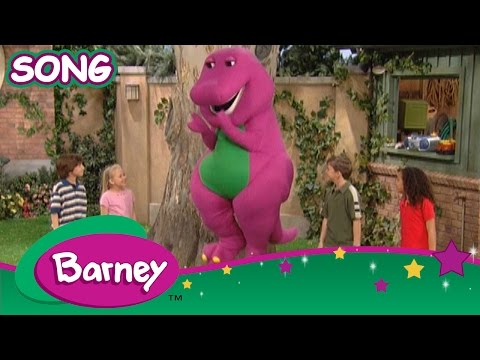 Barney - Pop Goes the Weasel (SONG)