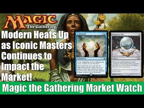 MTG Market Watch: Modern Heats Up as Iconic Masters Continues to Impact the Market!