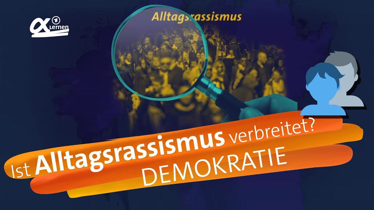 Download Rassismus-Check: Wie verbreitet ist Alltagsrassismus? | alpha Lernen erklärt Demokratie (RESPEKT)