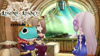Let's Play The Legend of Legacy Episode 1 Bianca's Quest