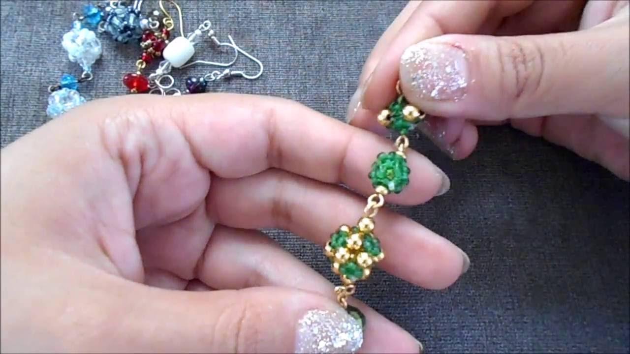 93dace5f651e Aretes Esmeraldas Doradas (Gold Emeralds Earrings) - YouTube