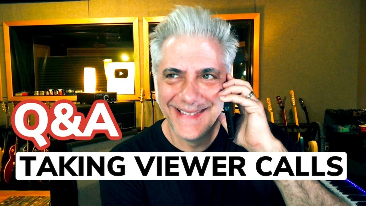 """Discussing """"Stairway"""" Video and Taking Viewer Calls (Sale)"""