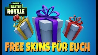WE PRESENT LEGENDARY SKINS FORTNITE ROAD TO 2500 ABOS