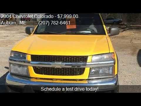2004 Chevrolet Colorado Z71 Ls 4dr Crew Cab 4wd Sb For Sale Youtube
