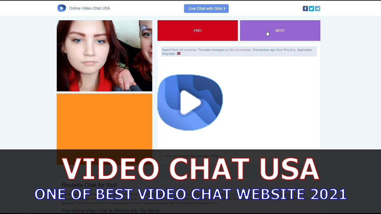 Usa video chat Chat