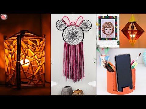 9 All Creative... Home Decorating Ideas !!! DIY Handmade Craft