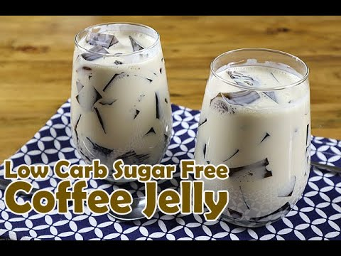 Low Carb Sugar Free Coffee Jelly (Keto Coffee Jelly) |The Peach Kitchen