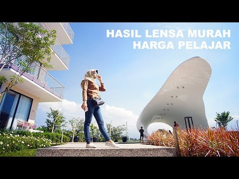 lensa meike 35mm f 1.7 video test ( SONY A6000 ).