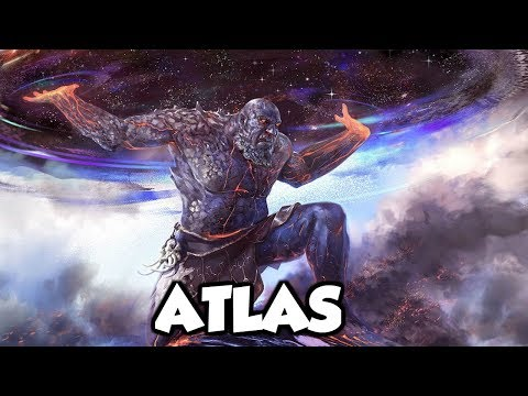 Atlas: The TItan God of Endurance, Strength And Astronomy - (Greek Mythology Explained)