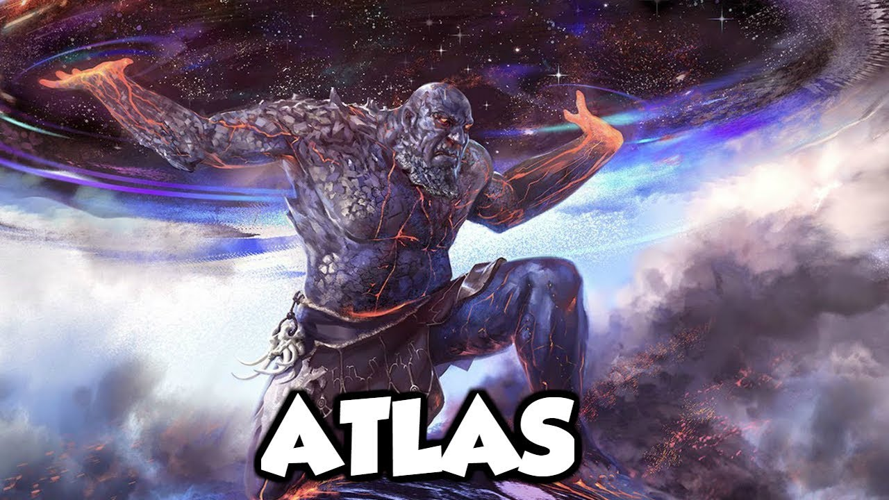 Atlas Greek Mythology Www Pixshark Com Images
