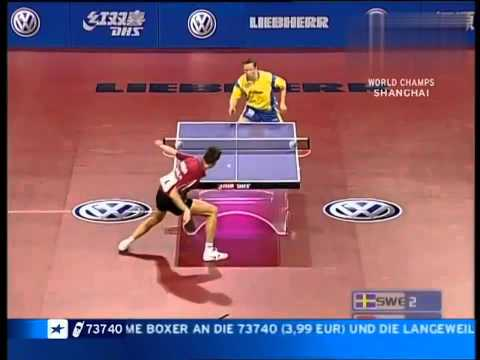 Jan Ove Waldner vs. Vladimir Samsonov --- Shanghai Table Tennis World Cup 2005