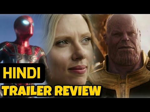 Avengers Infinity War Hindi Trailer Review | Marvel India