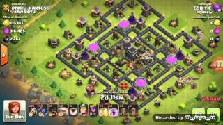 Clash of Clans 9 th fulleme !!