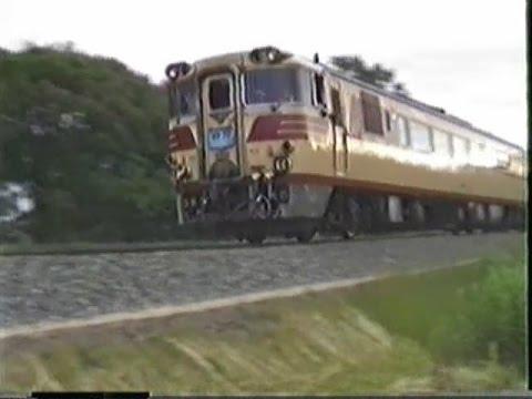 想い出の鉄道シーン95 想い出の北海道part4 石北本線キハ82「おおとり」・DD51客レ