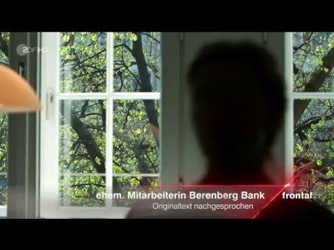 Hans Walter Peters (Berenberg Bank) dubiose Geschäfte aus Profitgier