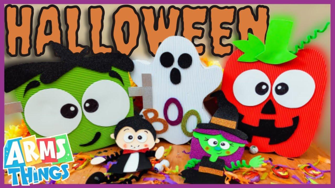 DIY: HALLOWEEN | Dulceros De Halloween | Manualidades Para Halloween