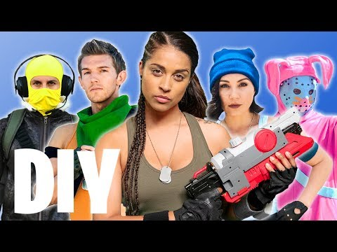 DIY FORTNITE HALLOWEEN COSTUME IDEAS
