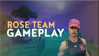 "Fortnite NEW ""Rose Team Leader"" Skin Gameplay! (Fortnite PC)"