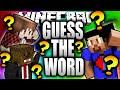 GUESS THE WORD!!! - Vikk vs Mitch vs Jerome  - Minecraft Scramble!