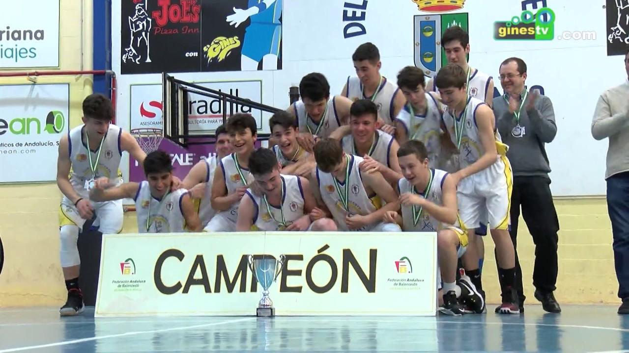 Lo mejor del baloncesto cadete provincial se dio cita en el Pabellón Cubierto de Gines