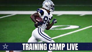 Training Camp Live: The CeeDee Lamb Show | Dallas Cowboys 2020