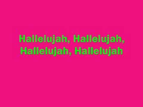 Hallelujah- Kate Voegele(Lyrics)