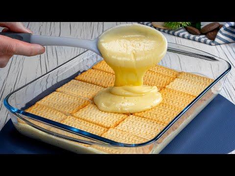 sans-œufs-et-sans-utiliser-le-four,-j'ai-préparé-un-gâteau-divin!|-savoureux.tv