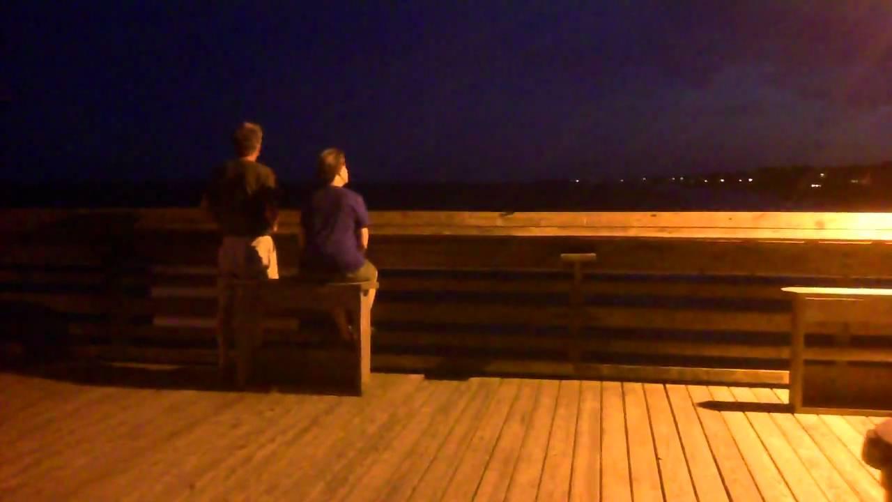 Garden City Beach, SC Pier - YouTube