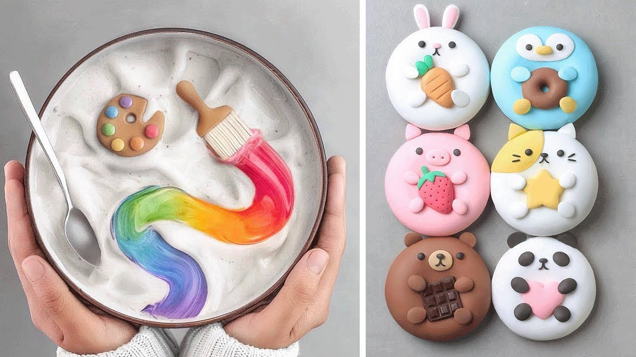 Cupcake Decorating Ideas  | 10 Simple and Easy Cupcake Recipes  | Yummy Chocolate Cake Tutorials