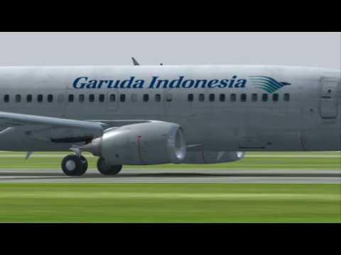 Boeing 737 Classic Series Garuda Indonesia