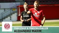 Spezialität Standards | Freistoß-Challenge vs. Alexandru Maxim | 1. FSV Mainz 05 | Kickbox