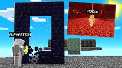 ins Nether locken und Portal abbauen Troll in LUCKY BLOCK BEDWARS