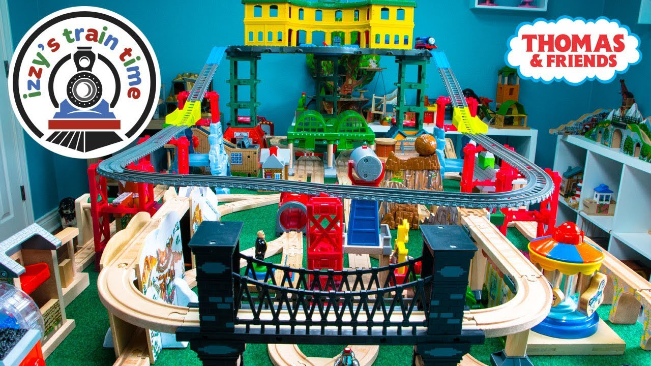 Thomas And Friends Super Station Wooden Track Fun Toy Trains For Kids Thomas Train With Brio