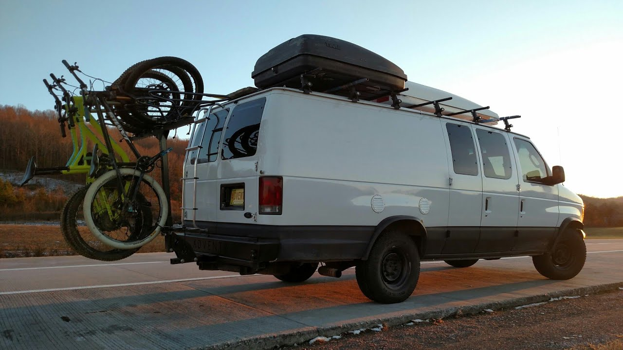 Ford Van With U Pol Raptor Spray On Liner How To Make Your Van