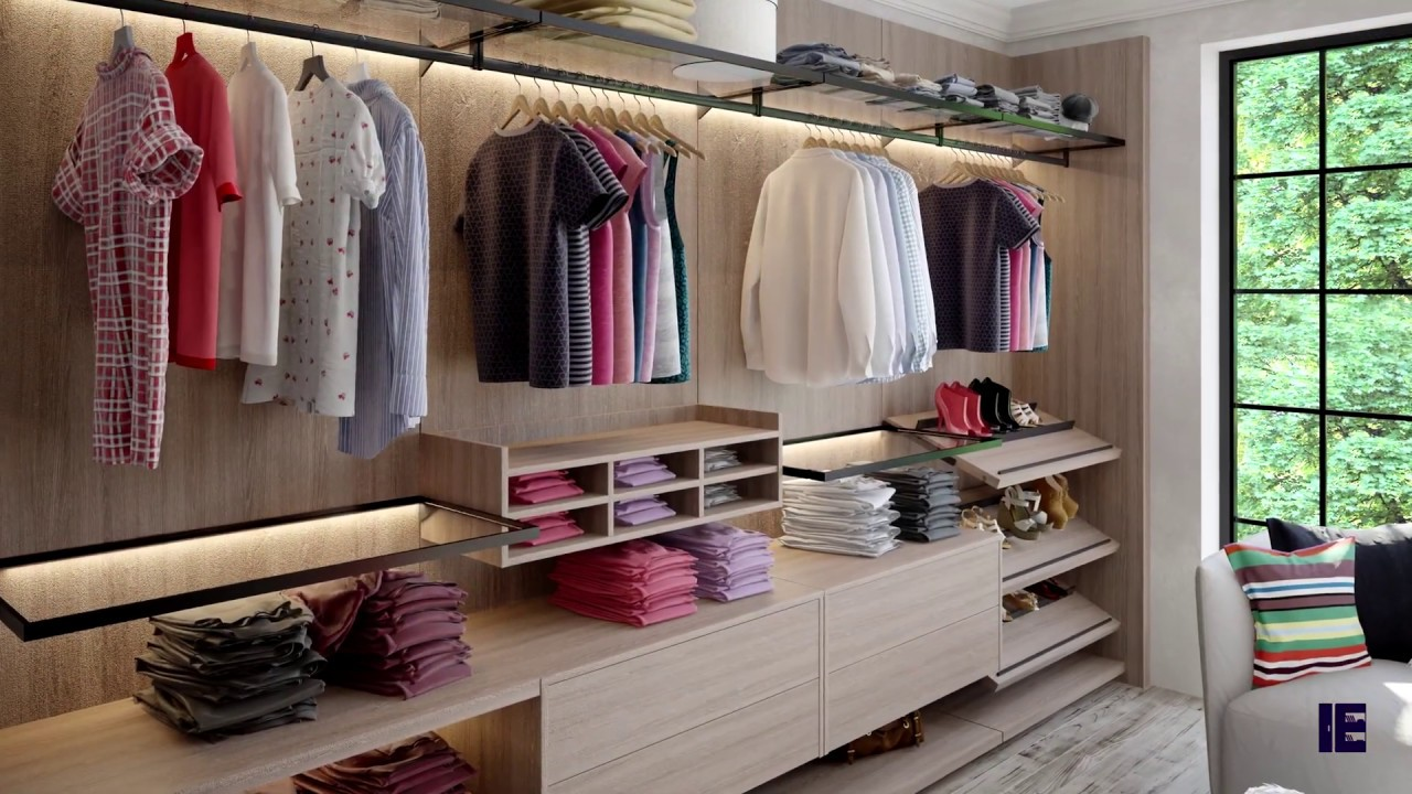 Our Linear walk-in wardrobe range is elegant fitted wardrobes with a stylish look and feel. The interiors are accessorized with elegant wood finishes including glass-top drawers, inclined shoe racks, trouser-racks, tie-racks, and lighted shelves. The modular floating structure is versatile to fit any fitted bedroom furniture design. Our interior design team can inspire you to design for a perfect walk-in wardrobe. Visit our London showroom for inspirational ideas and visually experience the quality and feel. nnA true configuration of walk-in wardrobe exactly how it should be made.  No side panels, completely suspended system gives you the openness of how a walk-in wardrobe should feel.  Full range of accessories available and you can bespoke this wardrobe to your requirements.  It's all in the details of this true walk-in wardrobe system nnIt comes with matching accessories and thicker shelves with CNC shelf fixings.nnInspired Elements custom fitted wardrobes range includes hinged wardrobes, sliding door wardrobes, built-in wardrobes, and walk-in wardrobes. Each fitted wardrobe idea is custom designed by our interior designers to client specifications with a wide range of colour palettes, finishing touches, and storage options. Whether youu2019re looking for glass fitted wardrobe doors, wood panel built-in wardrobe doors, or fitted wardrobes sliding doors we have the design solution.nnWHY CHOOSE INSPIRED ELEMENTSnInspired Elements is a London based manufacturer of bespoke furniture for luxury kitchens, fitted wardrobes, and living room furniture. We design, manufacture, and install Luxury bespoke kitchens and fitted wardrobes made from the finest materials. Using high-quality materials and advanced manufacturing techniques we strive to provide elegant designs and precision craftsmanship for any bespoke kitchen and fitted wardrobe requirement. We have extensive experience working with trade developers on projects, interior designers designing bespoke furniture and re