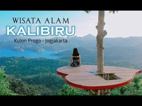 Wisata Alam Kali Biru Kulon Progo Jogjakarta