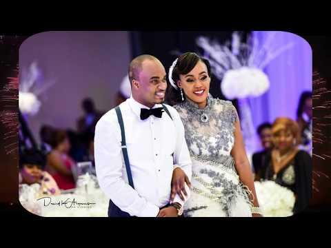 UGANDA AMERICANS CELEBRATED THE BEST WEDDING OF YEAR 2017  BAKER AND JOY