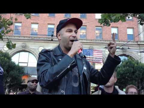 Tom Morello Speaks at Occupy SF 21 Oct 2011