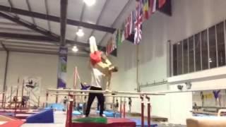My friend George doing epic gymnastics