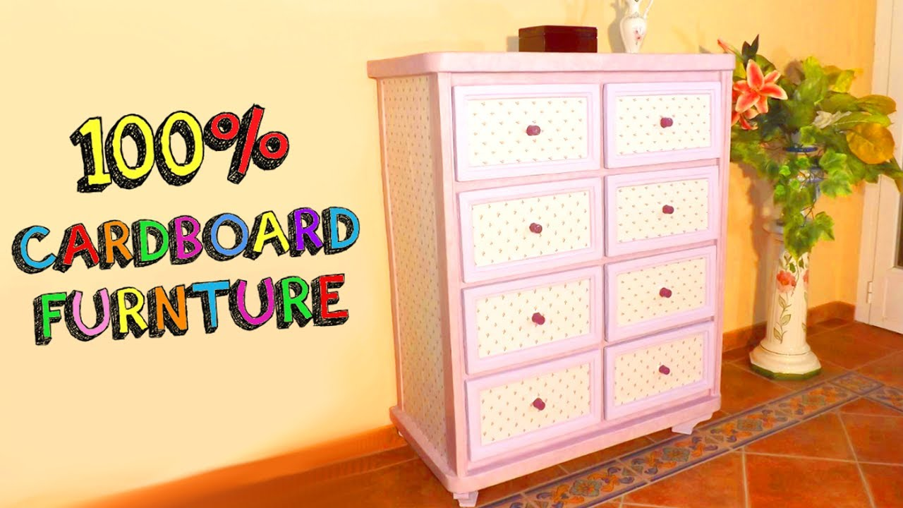 Diy Crafts Amazing Furniture With Cardboard Bo Recycled